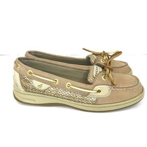 Sperry Top-Sider Gold Glitter Angelfish Dec Shoes